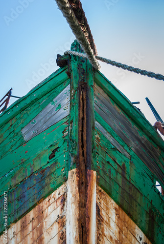 Aluminium Schipbreuk Vieux bateau