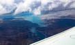 Desert Lake from Airplane - 212384932