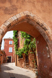 Archway in Roussillon, Provence, France