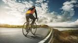 Radsportler beim Training - 212408123