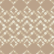 Seamless floral pattern. Background texture. Decorative floral ornament. Textile rapport. - 212421718