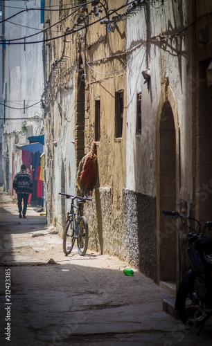Fotobehang Marokko Narrow streets of the old city of Essaouira