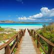 Leinwanddruck Bild - Sardinien im Sommer