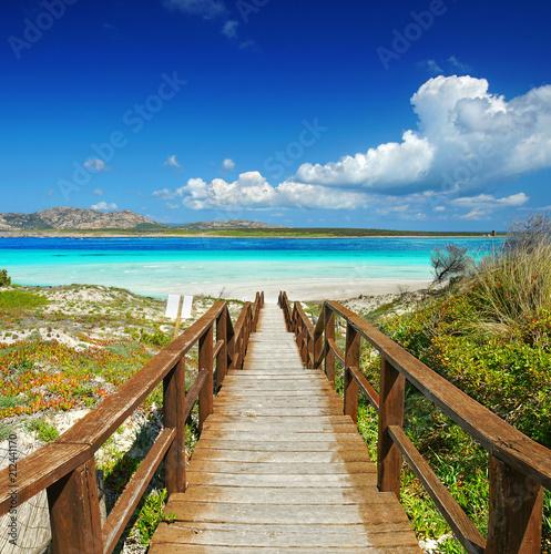 Leinwanddruck Bild Sardinien im Sommer