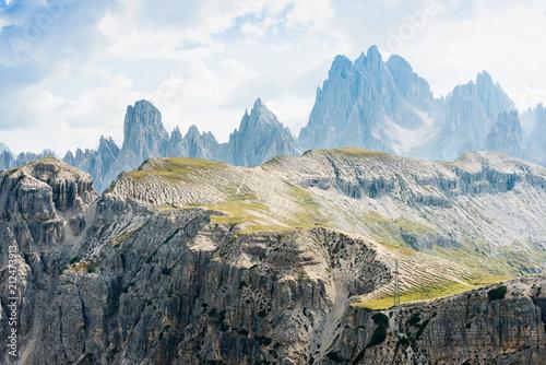 The Dolomites mountains. - 212473913