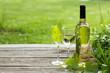 Leinwanddruck Bild - White wine