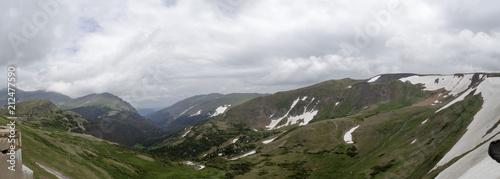 Fotobehang Wit Colorado Mountain Panoramic