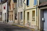 Vernouillet; France - july 2 2018 : the town center