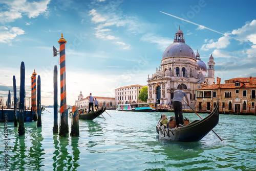 obraz PCV Gand Canal Venice