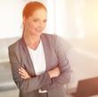 portrait of modern business woman