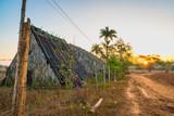 Sunrise over Tobacco Huts