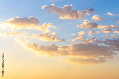 Fotobehang Zomer Sky of sunset