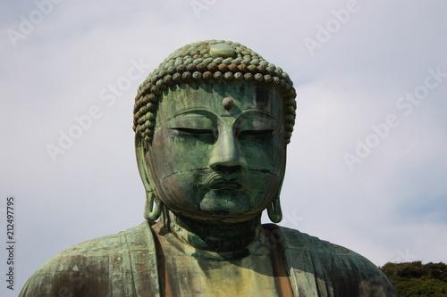 Aluminium Boeddha Buddha Kopf