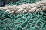 Fishing nets and rope - 212501785