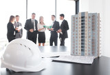 Business meeting of architects and investors - 212503199