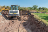 Erdarbeiten für Gartengestaltung - 212515324