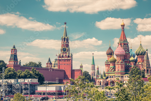 Moscow Kremlin and St Basil's Cathedral