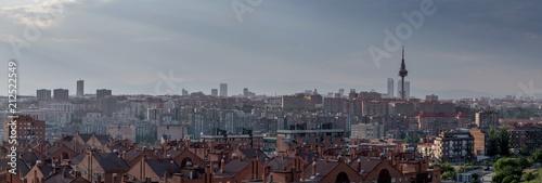 Panoramica de Skyline de Madrd  - 3/3 - Vista Este - 212522549