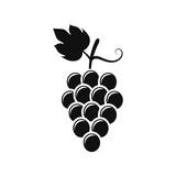 Grape icon. Vector.