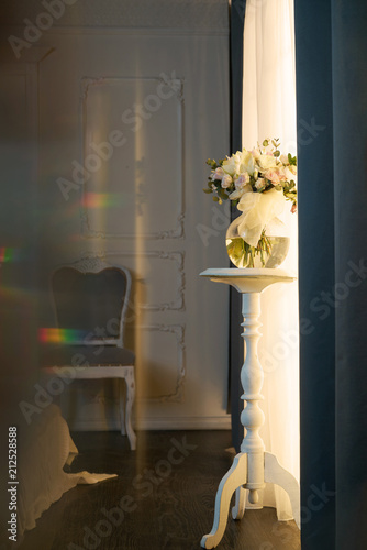Fotobehang womenART Interior with flowers