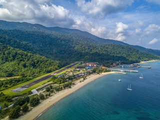 Pulau tioman drone © adel