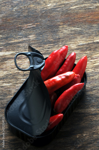 Fotobehang Hot chili peppers Capsicum