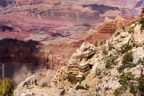Fotobehang Zalm Grand canyon Lipan Point view