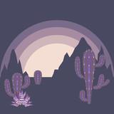 Desert Twilight Landscape - 212538348