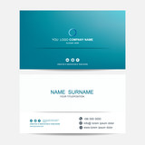 Business card vector background - 212538950