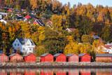 Trondheim region. Norwegian landscape - 212539918