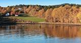 Rural Norwegian landscape, Autumn - 212539924