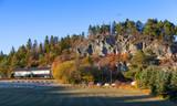 Stjordal, Norway. Autumn rural  landscape - 212539929