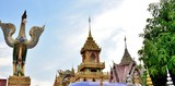 Wat Phratadruengrorng at Sisaket Province, Thailand. Beautiful Landmark of Thailand. landscape of the capital city