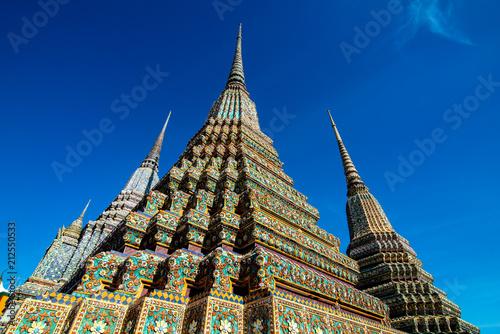 Plexiglas Bangkok Wat Pho Buddhist temple in Bangkok