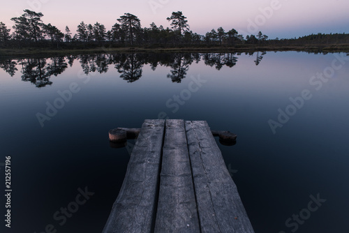 Plexiglas Pier Twilight dock