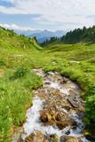 Frischer Bach im Tal von Bergen - 212559163