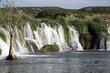 Wasserfall Zrwanja in Landschaft, Kroatien, Europa - 212563101