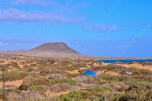 Landscape in Tropical Volcanic Canary Islands Spain - 212564742