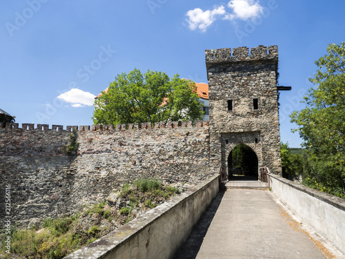 Fototapeta Bitov Castle from 1061 is a cultural monument, the Czech Republic