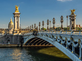 Statue on the Alexandre Bridge, Paris