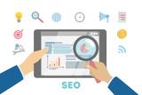Search engine optimization illustration - 212577127