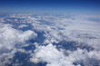 flight above the clouds - 212586356