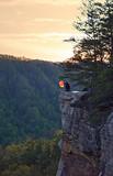 Lantern in Mountain Sunset