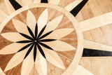 Vintage parquet with classical pattern - 212599363