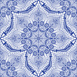 Seamless vector background. Paisley floral pattern. - 212603980