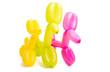 Leinwanddruck Bild - dog toy from a balloon isolated