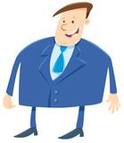businessman or boss cartoon character - 212619391