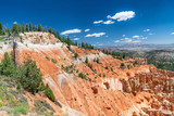 Amaing Bryce Canyon summer landscape with beautiful clouds - 212625724