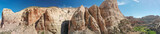 Zion National Park, panoramic aerial view, Utah, USA - 212627170