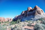Arches National park summer landscape, Utah - 212627364